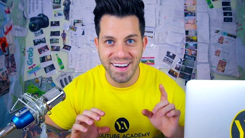 YouTube Academy – The Complete Guide from Beginner to Pro | Enroll  For Free | Udemy