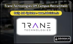 Trane Technologies Recruitment