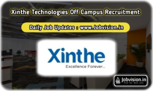 Xinthe Technologies Off Campus Drive