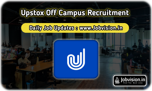 Upstox Off Campus Drive 2021
