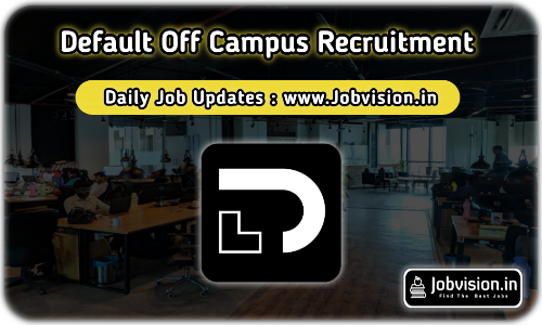 Default Off Campus Drive 2021