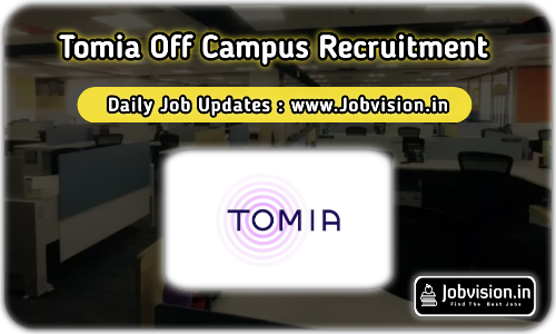 Tomia Off Campus Drive 2021