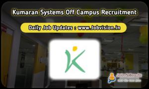 Kumaran Systems Off Campus Drive