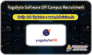 Yugabyte Software Off Campus Drive