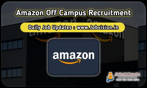 Amazon Off Campus Drive 2021