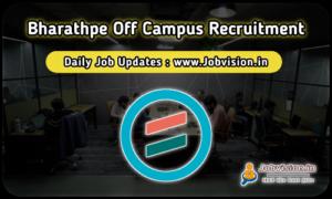 BharatPe Off Campus Drive 2021
