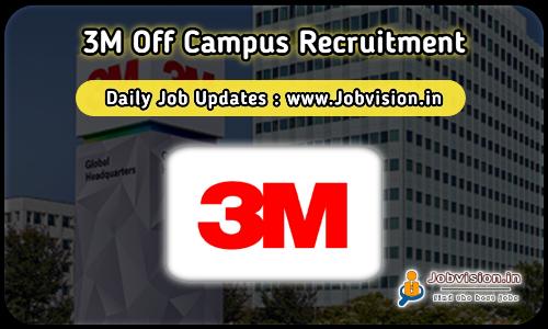 3M Recruitment 2021