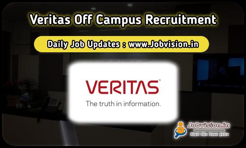 Veritas Recruitment 2021