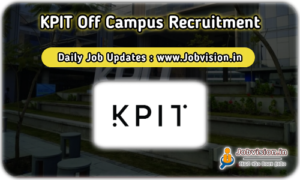 KPIT Off Campus Drive