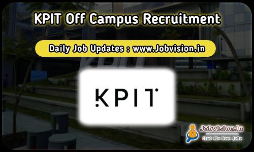 KPIT Off Campus Drive 2021