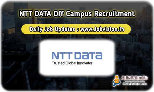 NTTDATA Off Campus Drive 2021
