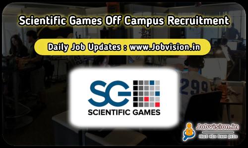 Scientific Games Off Campus Drive 2021