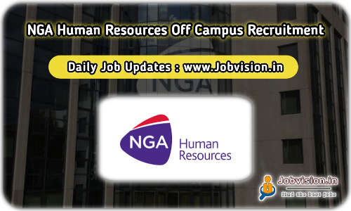NGA Human Resources Off Campus Drive 2021