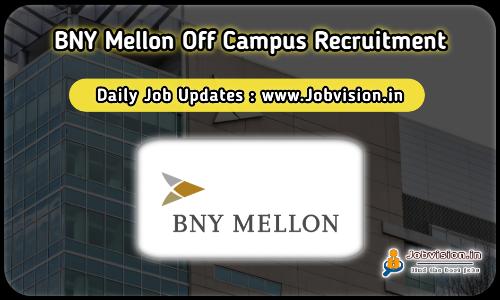 BNY Mellon Recruitment 2021