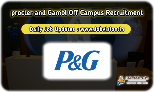 Procter and Gamble Internship Drive 2021