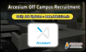 Arcesium Off Campus Drive