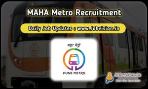 MAHA Metro Recruitmen