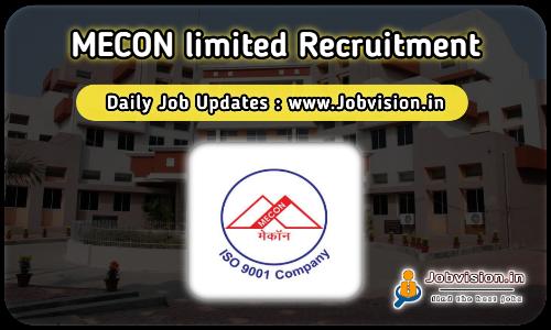 MECON Executive Recruitment 2021
