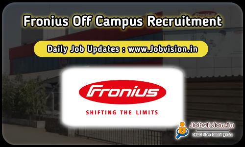Fronius Off Campus Drive 2021