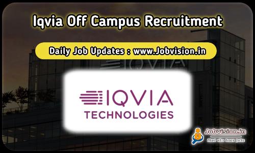 IQVIA Recruitment 2021