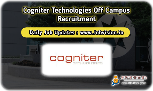 Cogniter Technologies Off Campus Drive 2021