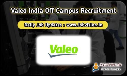 Valeo Freshers Recruitment 2021