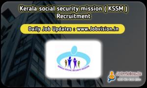 KSSM Recruitment