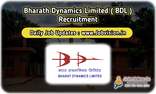 Bharat Dynamics LimitedRecruitment 2021