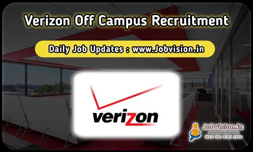 Verizon Off Campus Recruitment 2021