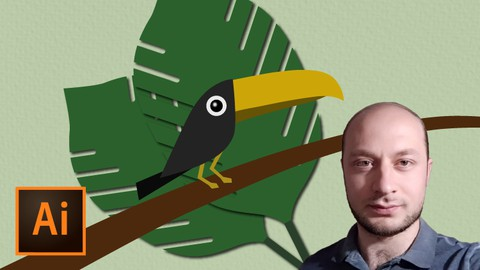 Create Toucan in Illustrator from Sketch | Enroll for free