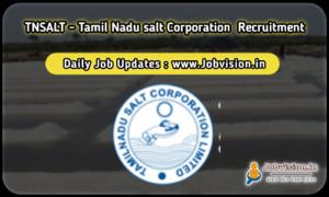 TNSALT Recruitment