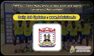 TNPESU Recruitment