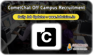 CometChat Off Campus Drive