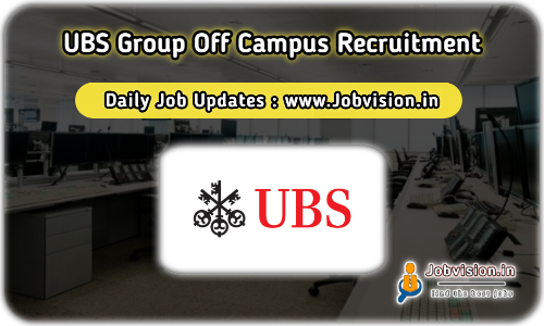 UBS Group Off Campus Drive 2021