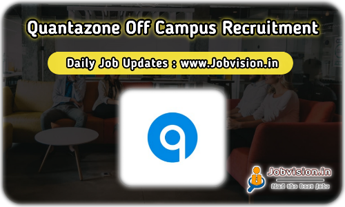 Quantazone Off Campus Drive 2021