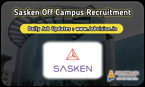 Sasken Off Campus Recruitment 2021