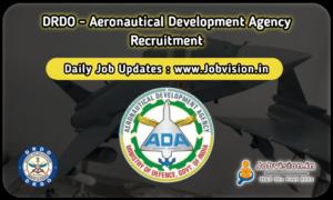 DRDO ADA Recruitment