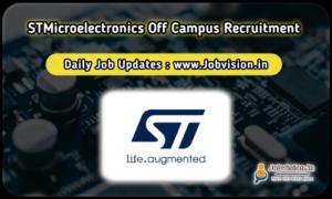 STMicroelectronics Recruitment