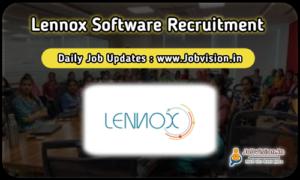 Lennox Software Walkin Interview