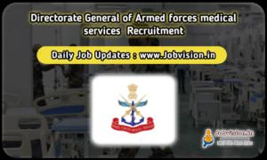 DGAFMS Recruitment