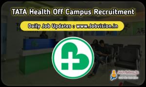Tata Health Off Campus Drive