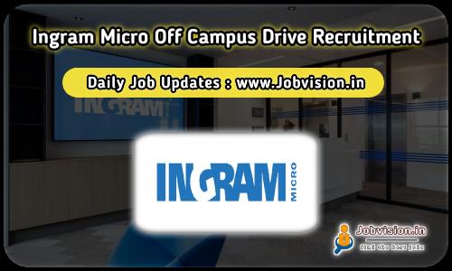 Ingram Micro Recruitment 2021