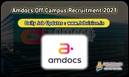 Amdocs Off Campus Drive 2021