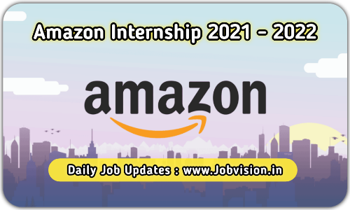 Amazon Internship drive 2021