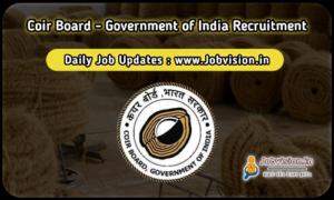 Coir Board Recruitment