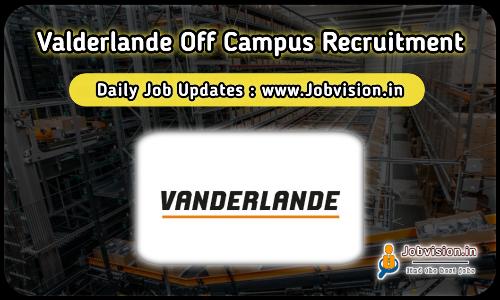 Vanderlande Recruitment 2021