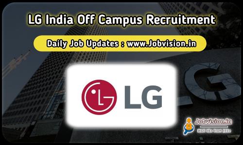 LG India Recruitment 2021