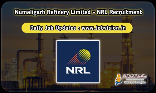 NRL Numaligarh Refinery Jobs 2021