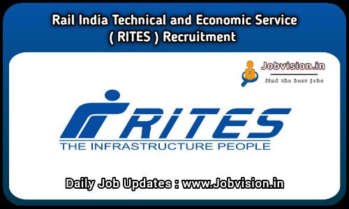RITES GET Recruitment 2021
