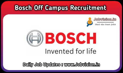 Bosch Off Campus Drive 2021